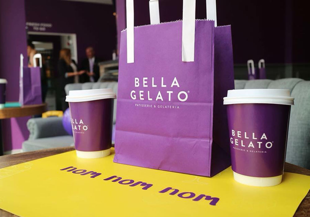 Bella Gelato - Packaging Design Essex