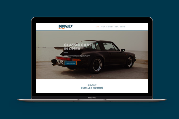Motor Industry - Website Design Essex